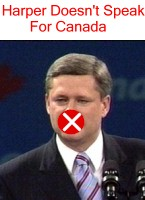 Harper Doesn't Speak