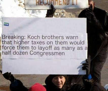 LOTM Koch taxes via sandy griffin