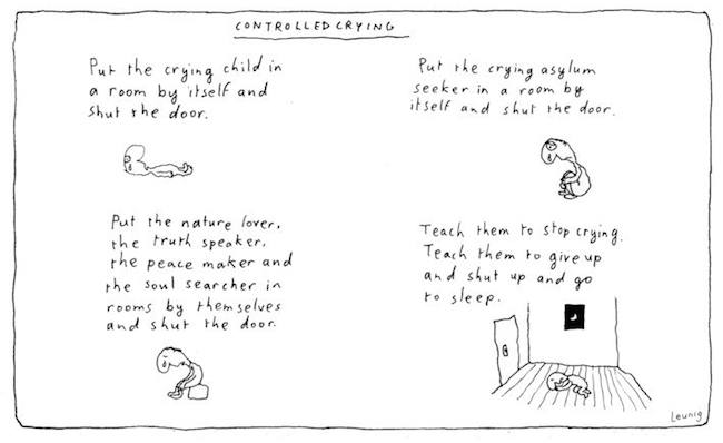 Leunig controlled crying