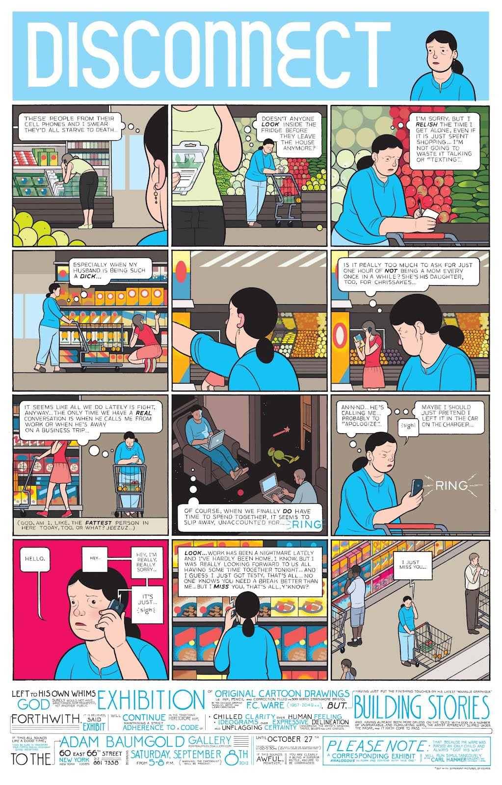 chris ware disconnect