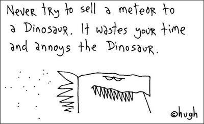 hugh macleod dinosaur