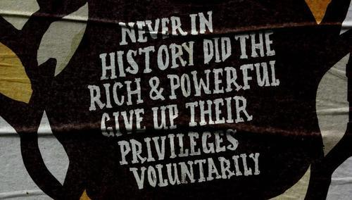 power is never ceded voluntarily